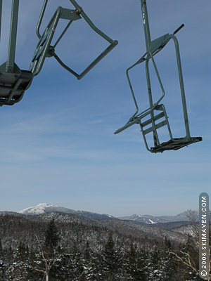 Vermont ski lifts - Bolton Valley