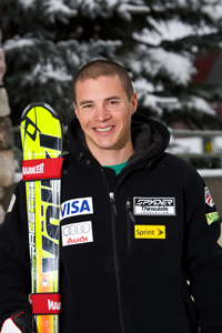 US Ski Team skier Cody Marshall of Vermont