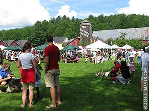 Waitsfield Farmers' Market in Vermont