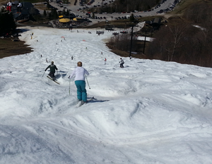 May 2014 Vermont skiing
