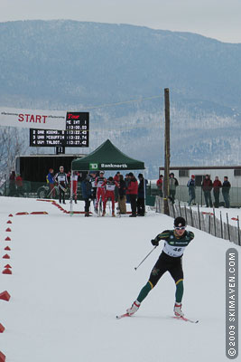 Ski racing in Stowe, Vermont, this weekend