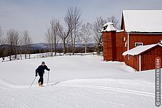 Cross country ski areas in Vermont