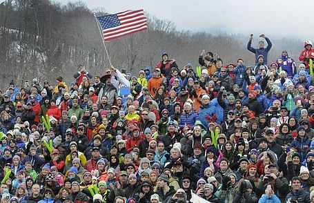 Killington, Vermont, World Cup fans