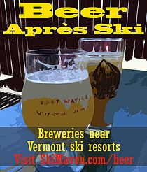Breweries near Vermont ski resorts