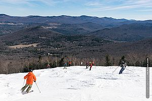 Spring skiing in Vermont 2016