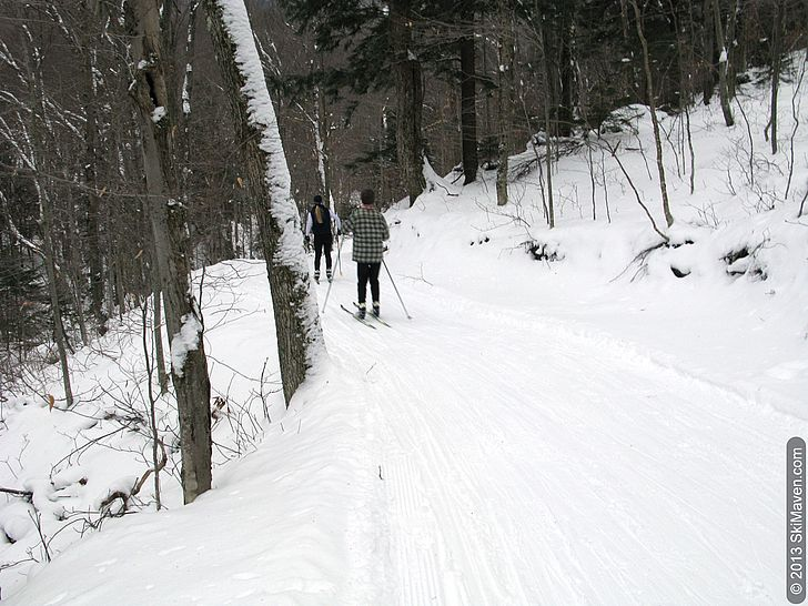 Bear Run cross-country trail at Stowe Mountain Resort