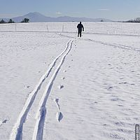 Cross-country skiing in Vermont
