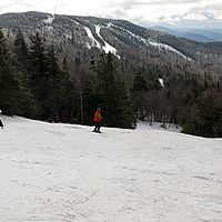 Skiing at Bolton Valley, Vermont