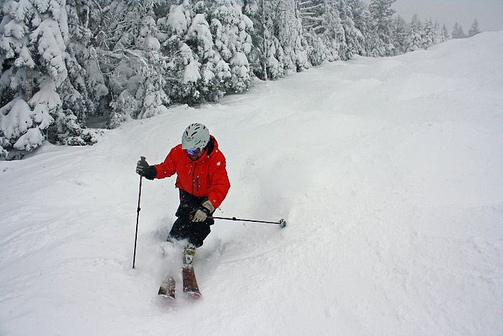 Snow photo from Stowe.