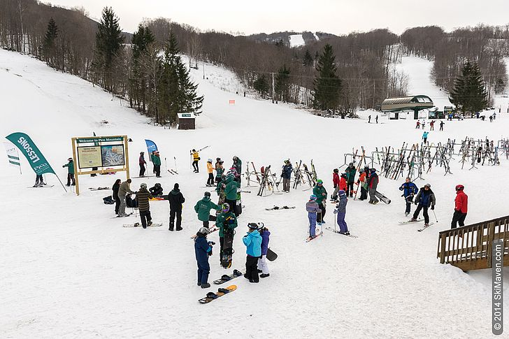 Learning to ski/snowboard in Vermont