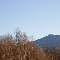 A view of Camel's Hump from Bolton Valley, Vt.