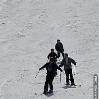 Spring skiing at Jay Peak earlier this month