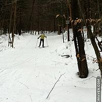 Stowe Mtn. Resort nordic trails.