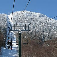 Sugarbush's Castle Rock chairlift