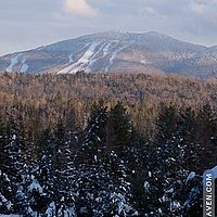 Burke Mountain in Vermont.