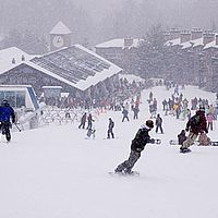 Skiing at Okemo Mountain Resort
