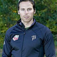 Cross-country ski racer Andy Newell of Vermont