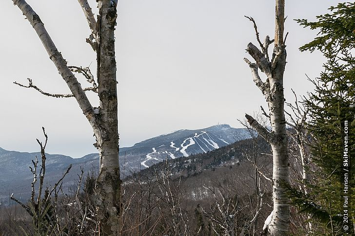 A peek over to Mt. Mansfield