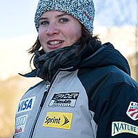 US Ski Team member Chelsea Marshall from Vermont
