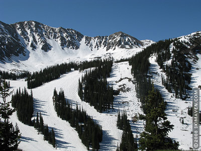 Colorado's Arapahoe Basin on June 9--the day after closing.