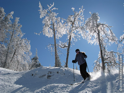 Skiing and ski swaps in Vermont