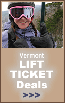 Vermont lift ticket deals