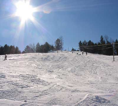 Northeast Slopes ski area in Vermont